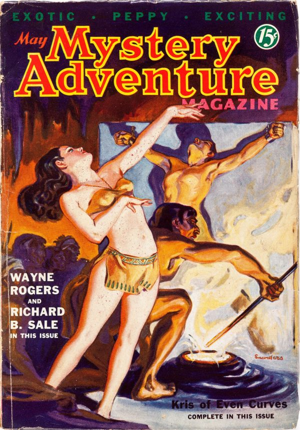 Mystery Adventures Magazine - May 1936