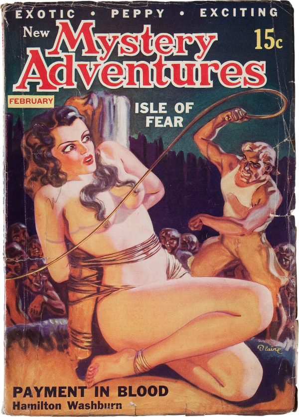 New Mystery Adventures - February 1936