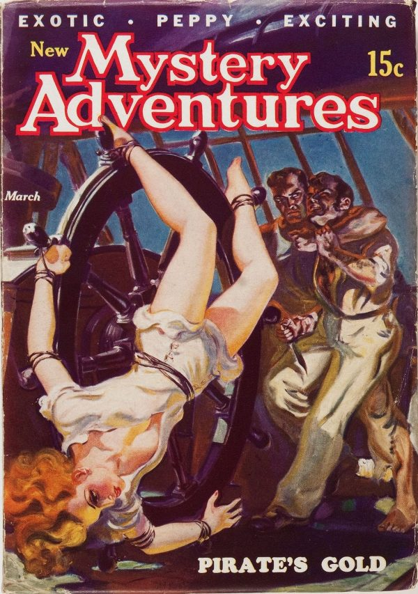 New Mystery Adventures - March '36