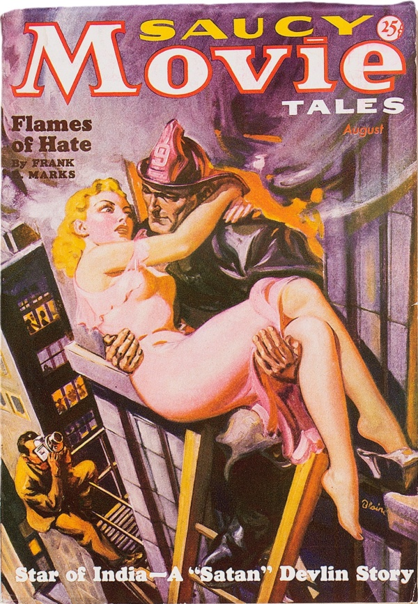 Saucy Movie Tales - August 1936