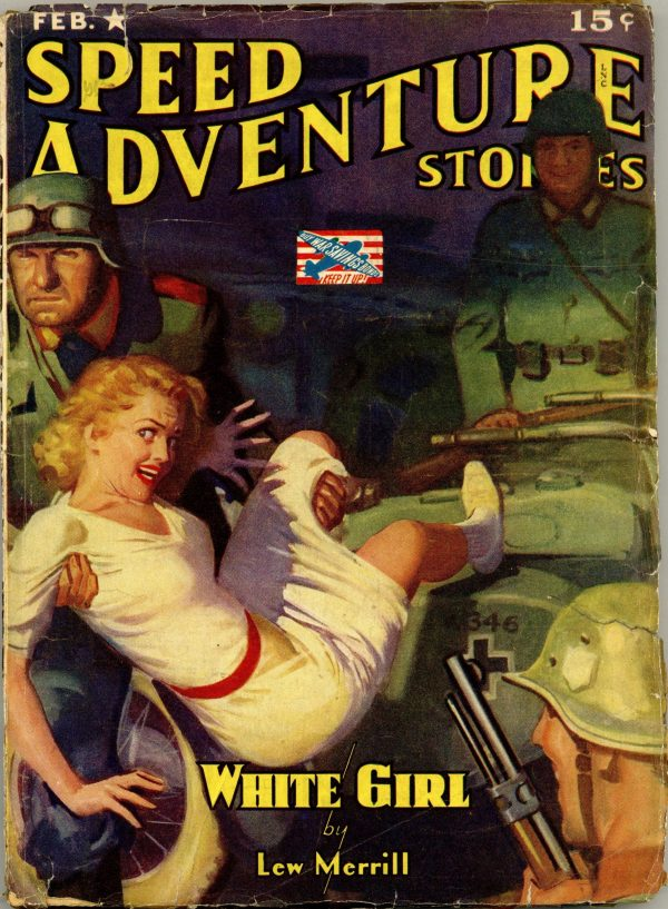 Speed Adventure Stories February 1943