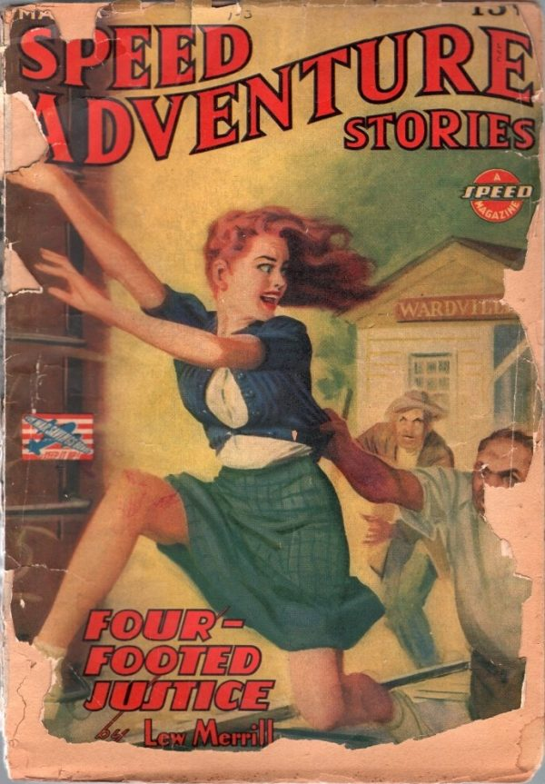 Speed Adventure Stories March 1943