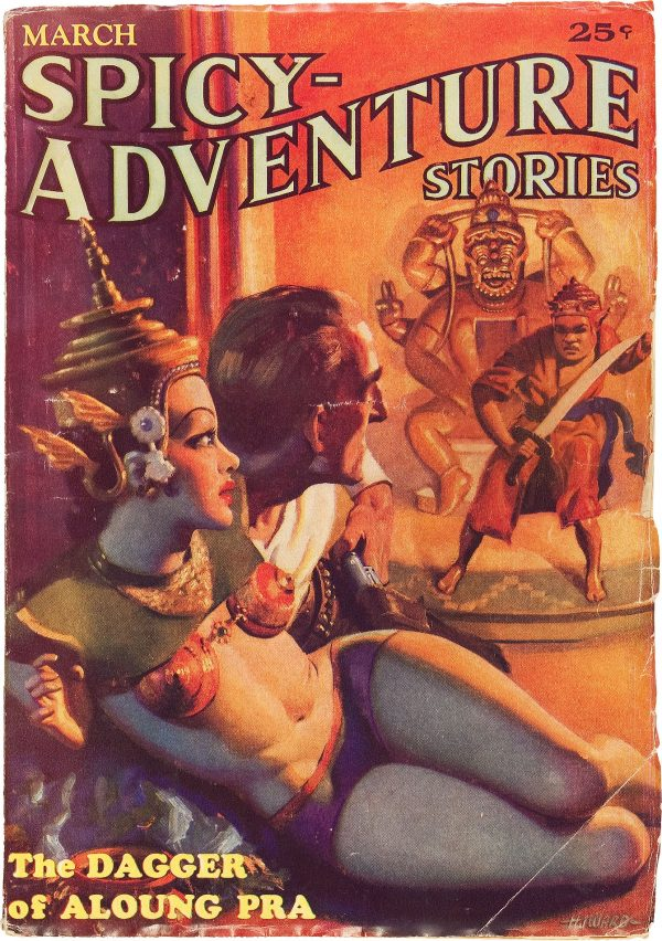 Spicy Adventure Stories - March 1935