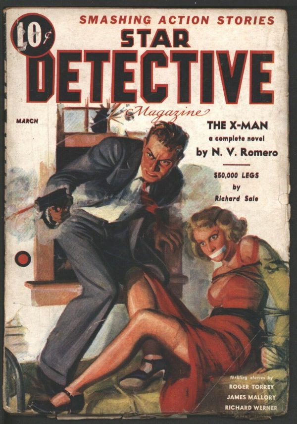 Star Detective (Red Circle - Marvel, Timely) 1935 May
