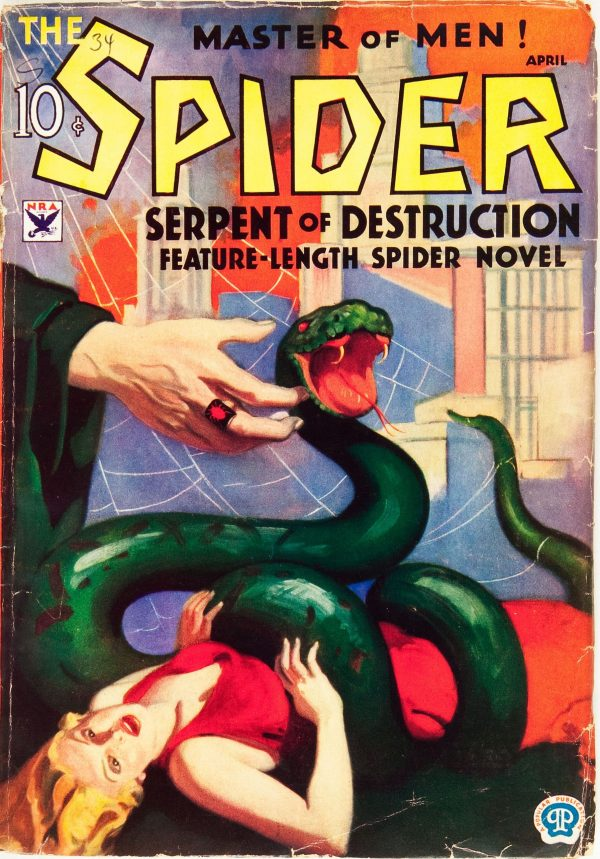 The Spider - April 1934