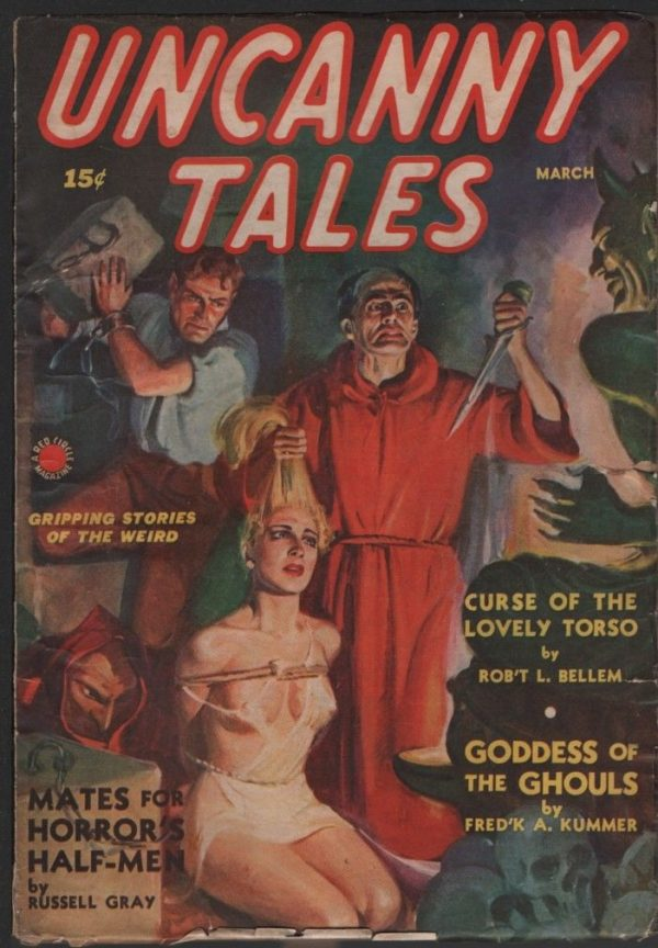 Uncanny Tales 1940 March