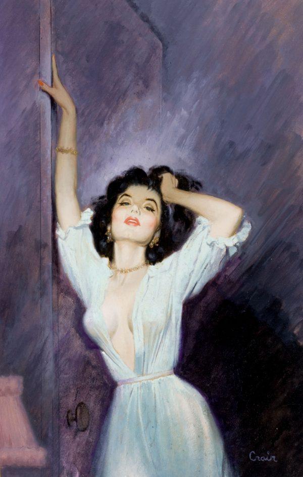 38254506-Mel_Crair,_Very_Private_Secretary,_paperback_cover,_1960