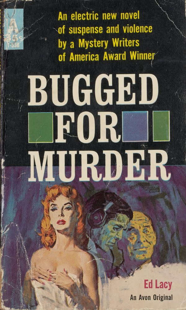 38286683-Bugged_For_Murder,_Avon_Books,_1961