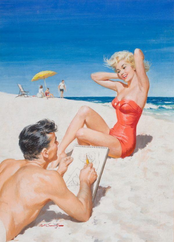 38298418-Coronet_magazine_cover,_August_1954