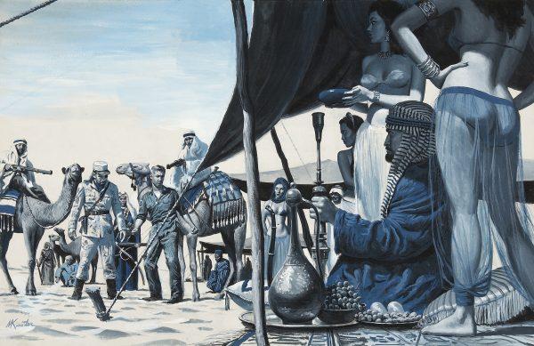 38400444-The_Yank_Who_Fouled_Up_Rommel's_Desert_Assault,_Stag_story_illustration,_October,_1961