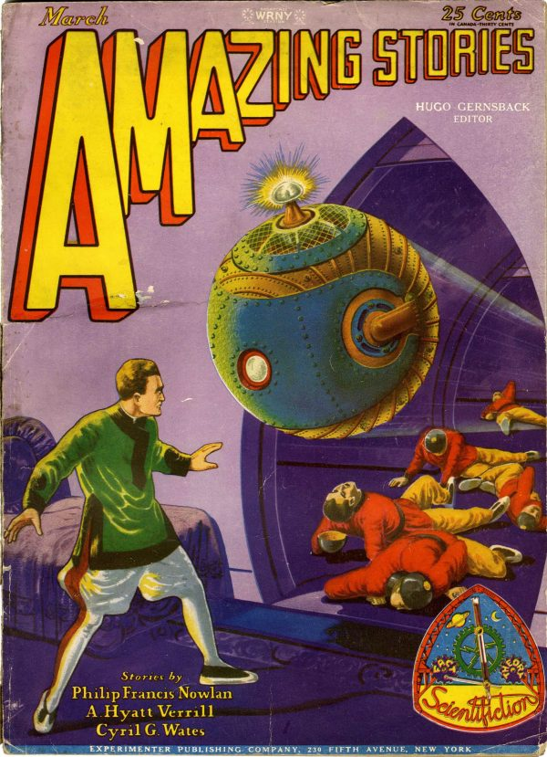 Amazing Stories March 1929