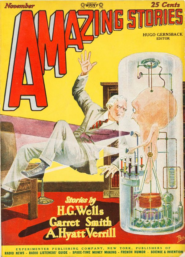 Amazing Stories November 1927