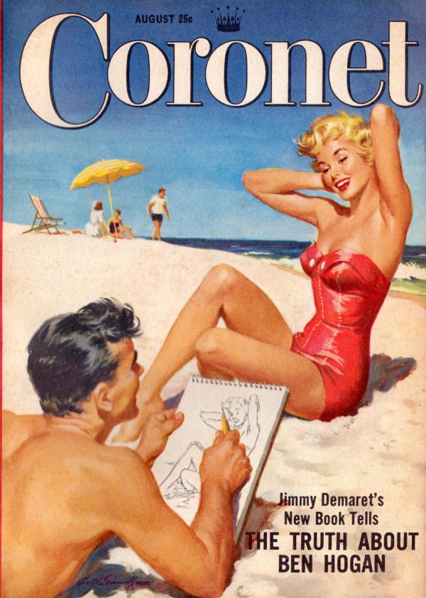 Coronet - August 1954