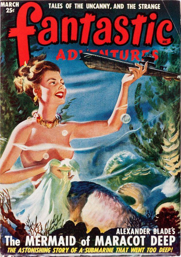 Fantastic Adventures March 1949
