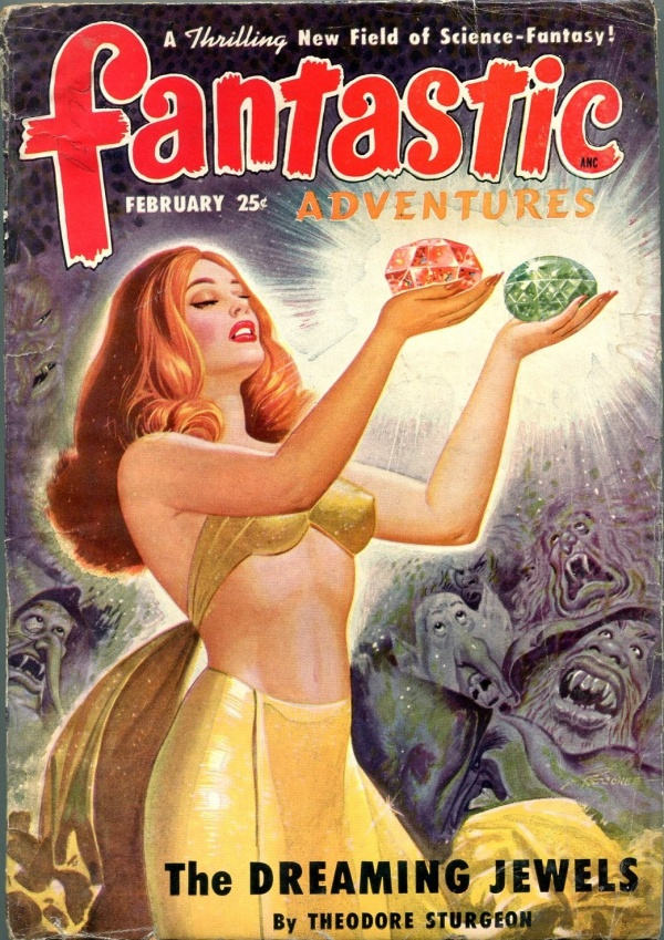 February 1950 Fantastic Adventures