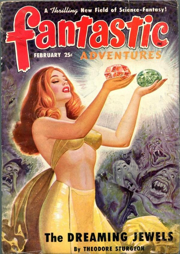 February 1950 Fantastic Adventures