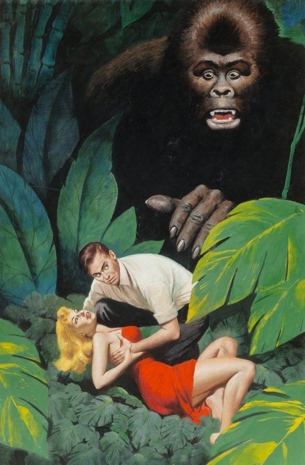Konga A Monarch Movie Book paperback cover, 1960