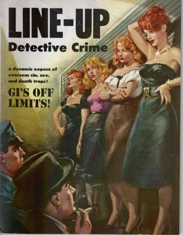 Line Up Detective April 1953