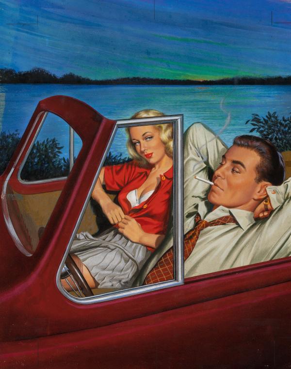 Reno Tramp by Florence Stonebraker, Ecstasy Novel No. 6, 1950