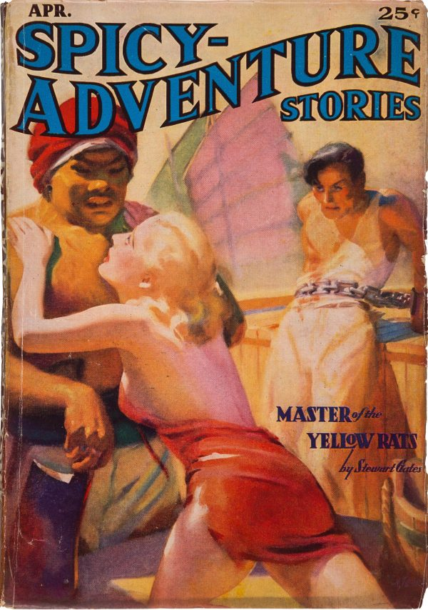 Spicy Adventure Stories - April 1937