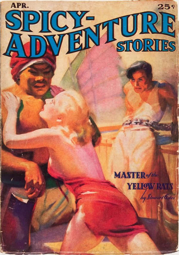 Spicy Adventure Stories - April '37