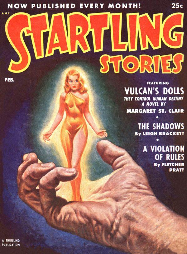Startling Stories February 1952