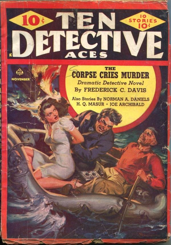 Ten Detective Aces November 1942