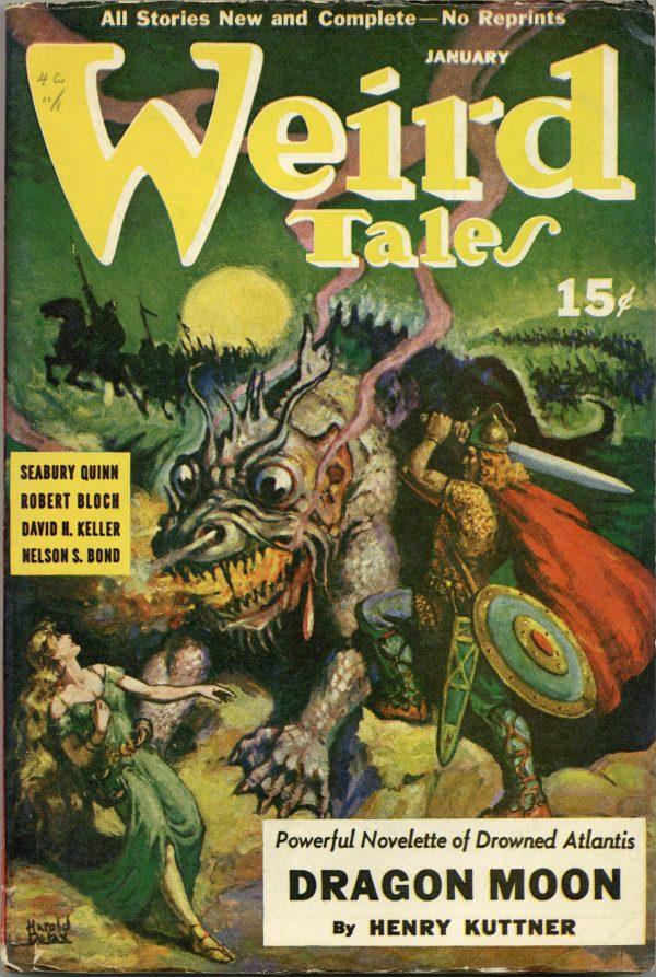 Weird Tales Pulp January 1941