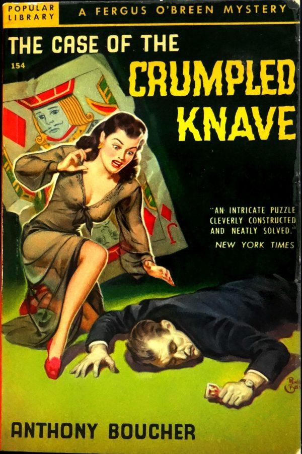 Popular Library 154 (1949).  Cover by Rudolph Belarski