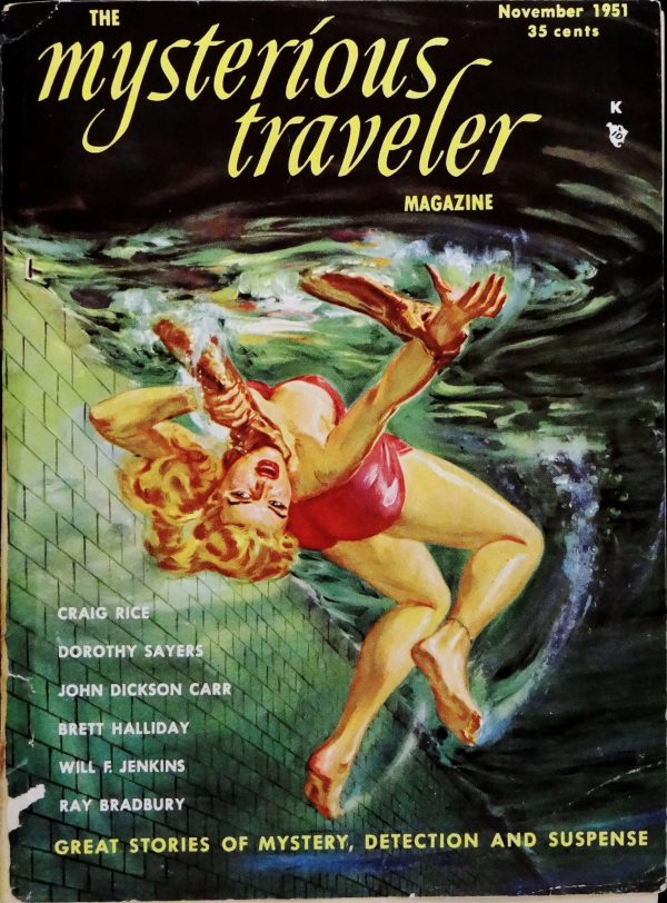 The Mysterious Traveler Vol. 1, No. 1 (Nov., 1951). Cover by Norman Saunders