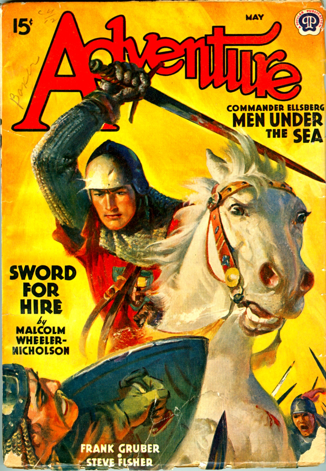 Adventure Magazine Pulp Covers Page 4
