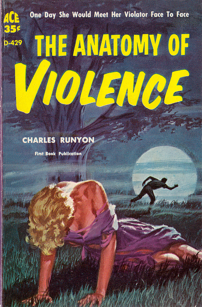 The Anatomy Of Violence – Pulp Covers