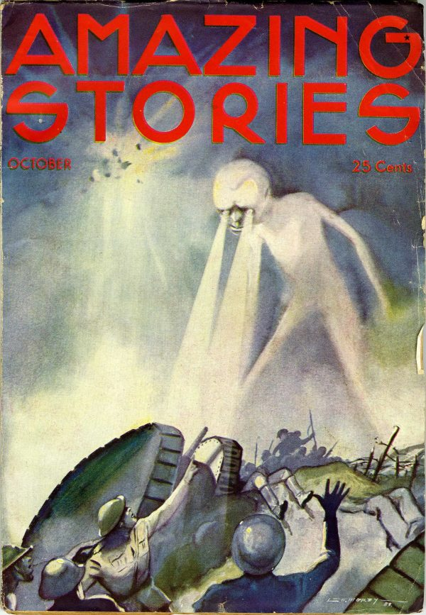 Amazing Stories, October 1933