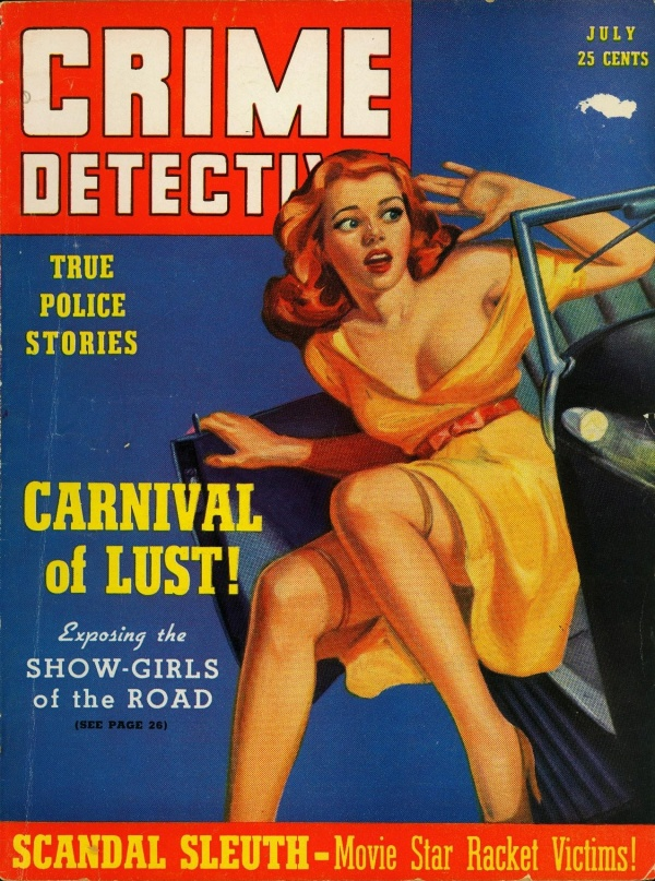 Crime Detective July 1940