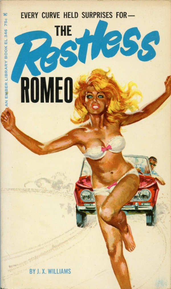 Ember Library EL 346 - The Restless Romeo (1966)