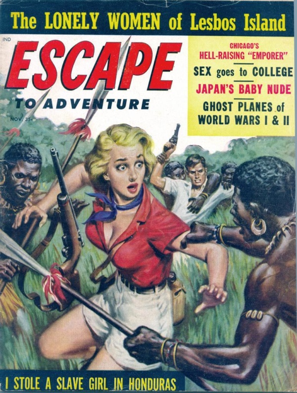 Escape To Adventure November 1958