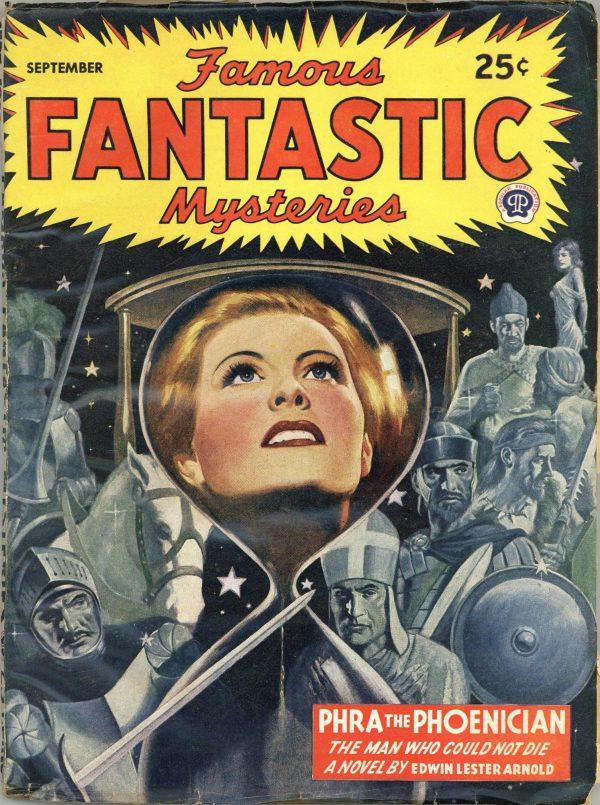 Famous Fantastic Mysteries September 1945