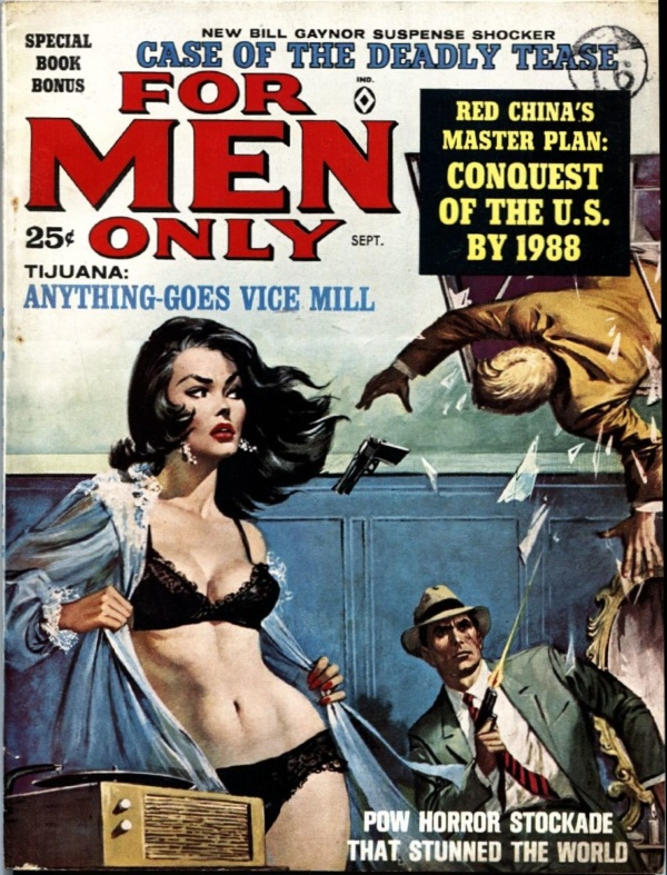 For Men Only September 1963