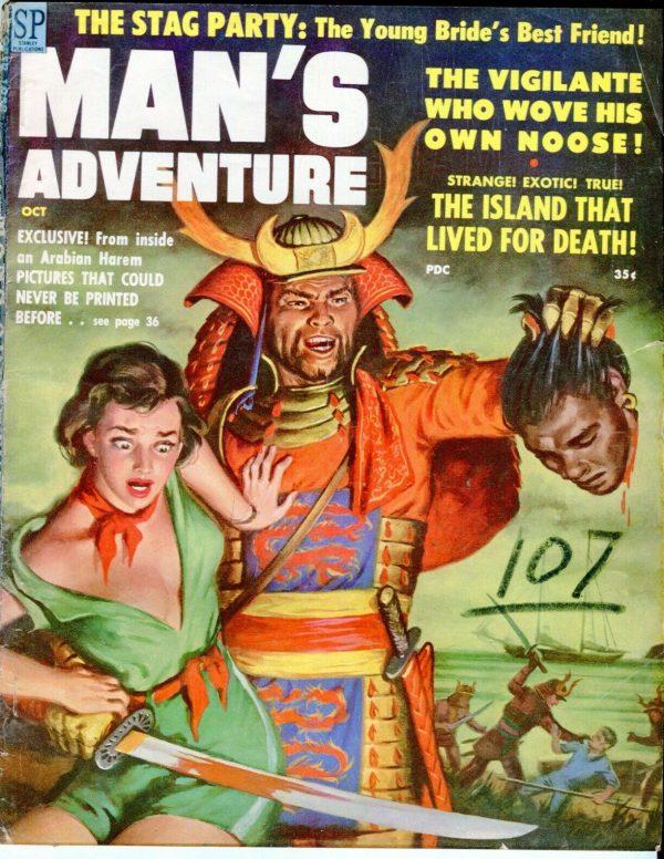 MAN'S ADVENTURE October 1958