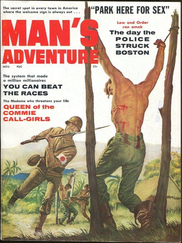 Man's Adventure November 1960