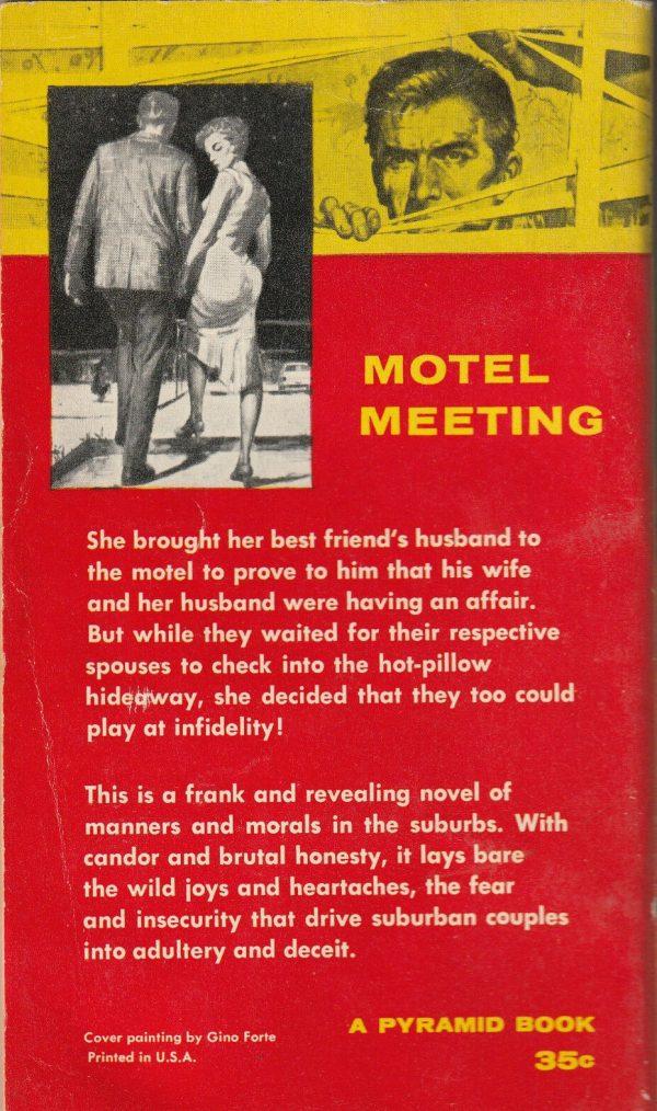 Pyramid Books #G457, 1959 Back