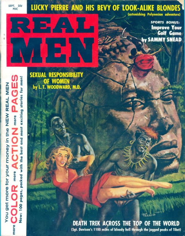 Real Men September 1959