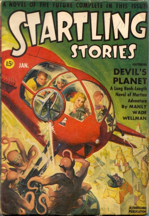 Startling Stories January 1942