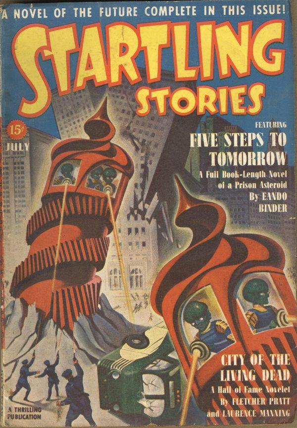 Startling Stories July 1940