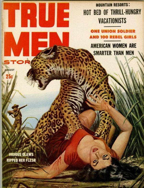 True Men Magazine August 1958