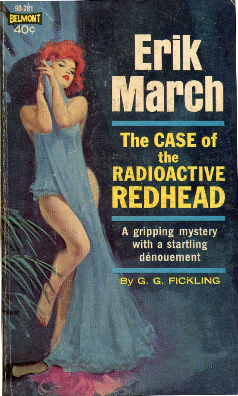 Image result for case of the radioactive redhead pulp cover