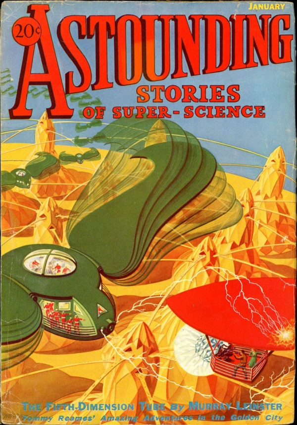 ASTOUNDING STORIES OF SUPER SCIENCE. January, 1933
