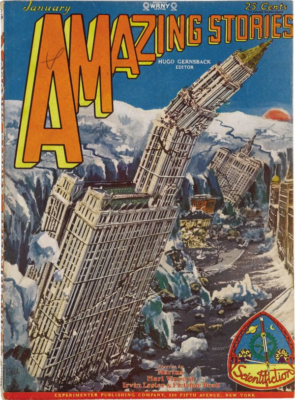 Amazing Stories, January 1929