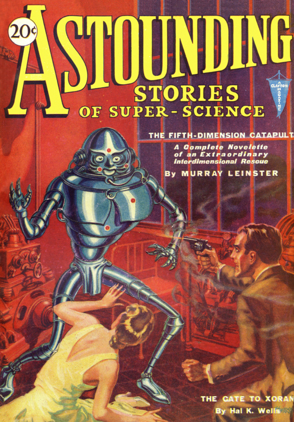 Astounding January 1931