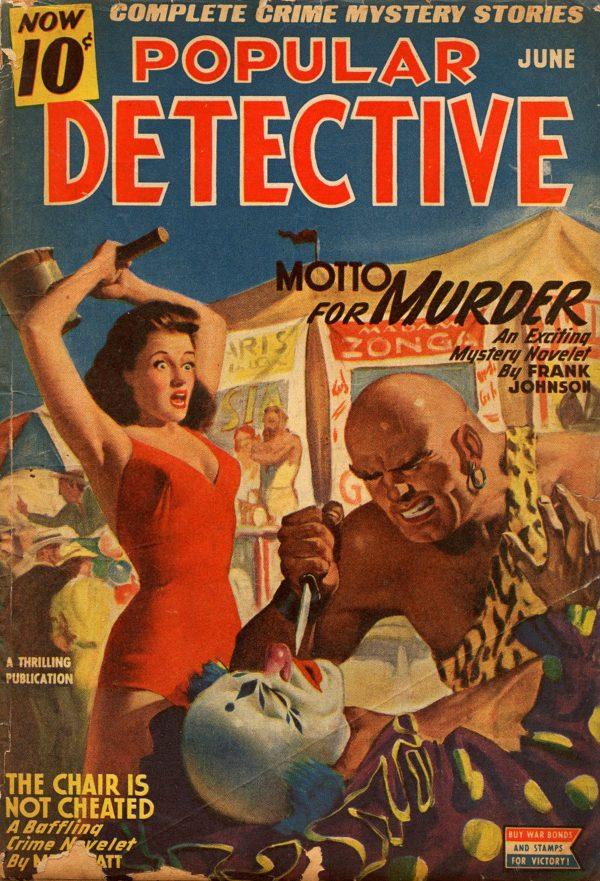 Detective Magazine June 1945
